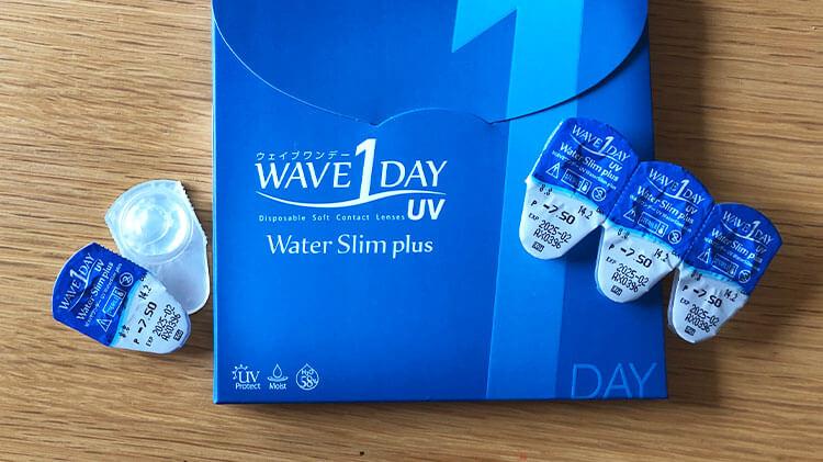 WAVEのパッケージとレンズケース写真